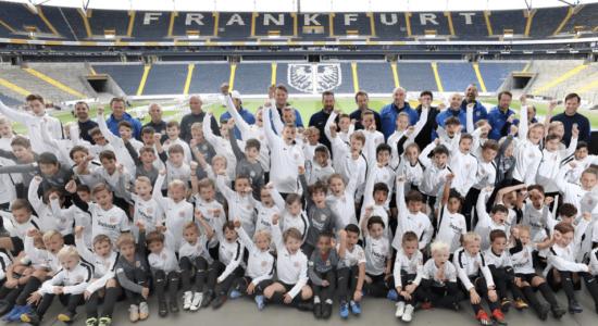 Eintracht Frankfurt Fußballschule Screen